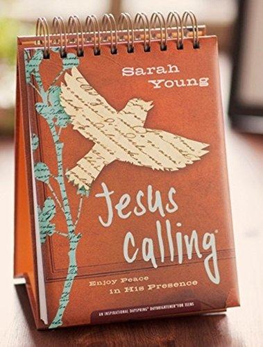 Jesús Llamando–365Día Calendario Perpetuo para adolescentes–Grande