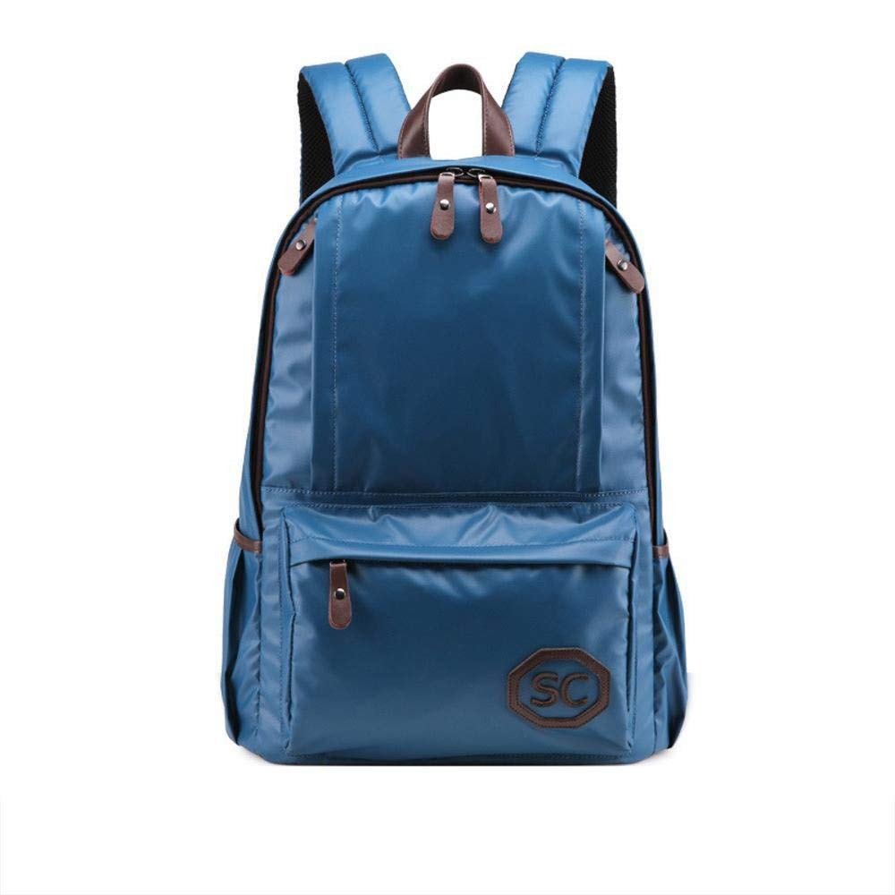 NuoEn Sports Backpack Canvas Middle School Student Backpack Computer Travel Bag
