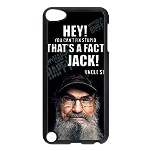 Hey Jack Duck Dynasty Ipod Touch 5th Case Cover Uncle Si Silas It's On Like Donkey Kong Happy Quotes Camo by ruishername