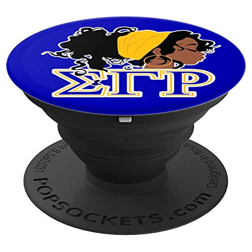 Sigma SGRho Gamma Rho Gift Paraphernalia - PopSockets Grip and Stand for Phones and Tablets