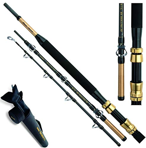 SHIMANO BeastMaster BX STC Trolling, 2,13 metres, 6,99ft, 4 Parts, Sea Fishing Rod, Boat Rod, Travel Rod