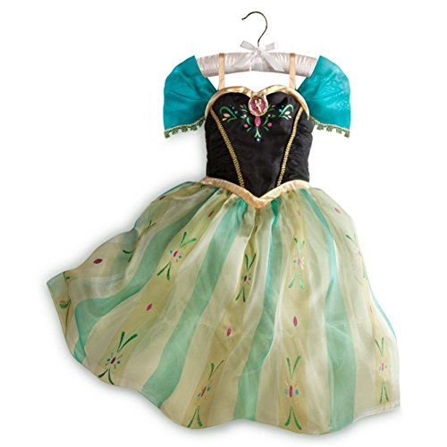 [Frozen Anna Coronation Dress Costume for Girls (9/10)] (Sven Costume For Boys)