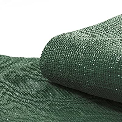 ALEKO PLK0850GR Fence Privacy Screen Outdoor Backyard Fencing Windscreen Shade Cover Mesh Fabric with Grommets 8 x 50 Feet Dark Green : Garden & Outdoor