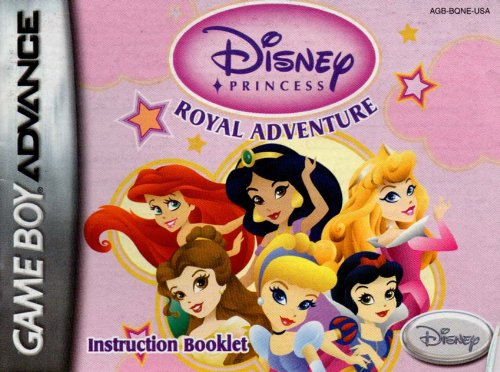 (Disney Princess - Royal Adventure GBA Instruction Booklet (Game Boy Advance Manual only) (Nintendo Game Boy Advance Manual))