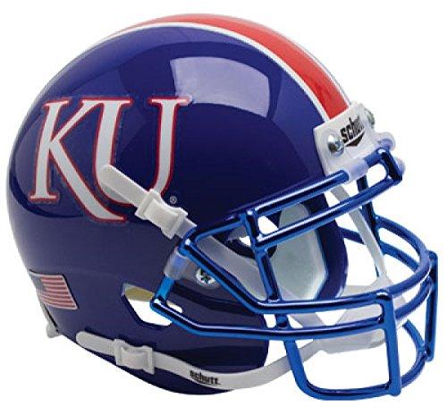 - Schutt NCAA Kansas Jayhawks Mini Authentic XP Football Helmet, KU Alt. 6