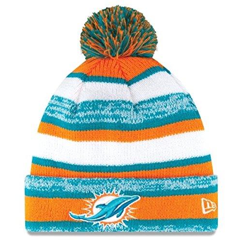 62c6df5bb5a Miami Dolphins Cuffed Knit Hats
