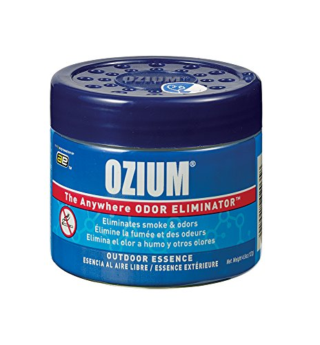 Smoked Pizza - Ozium 804282 Outdoor Essence Scent Gel - 4.5 oz.