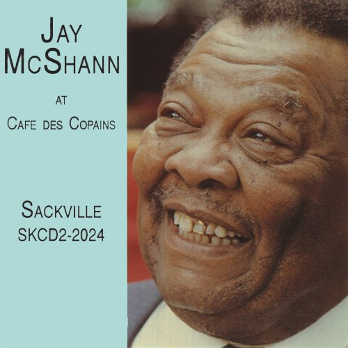 Jay McShann at Cafe Des Copains by Sackville