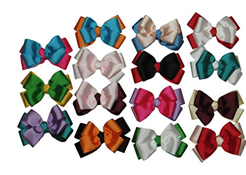 Large Boutique 3in Hair Bows for Teens Women Girls Baby Gifts 15pcs ⌘ Baby Accessories - Tiffany For Sport Men