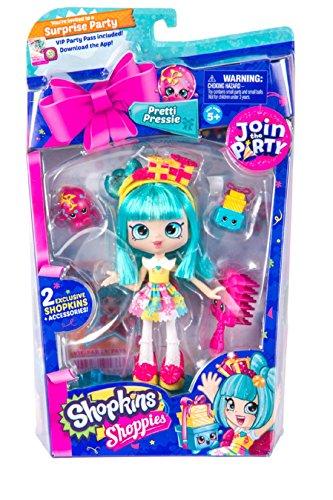 Shopkins Shoppies Party Themed Dolls - Pretti-Pressi by Shopkins