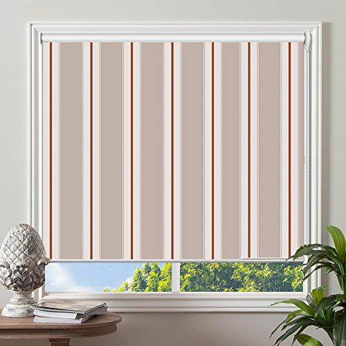 PASSENGER PIGEON Blackout Window Shades, Premium UV Protection Water Proof Custom Roller Blinds, Printed Picture Window Roller Shade, 71