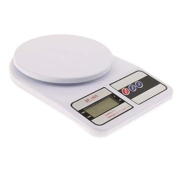 FLAMEER Escala de Cocina Digital para Mascotas Accesorios Fácil de Instalación Organizador Material Duradero - 5 kg: Amazon.es: Juguetes y juegos