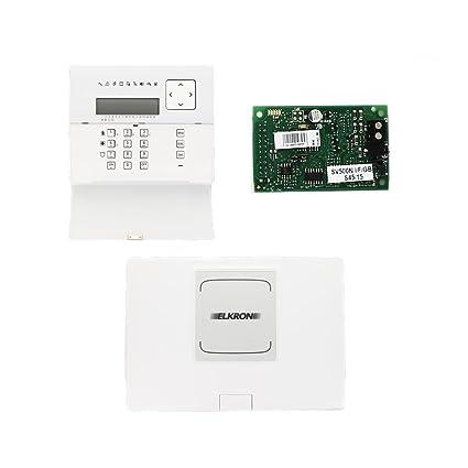 Elkron - Kit de alarma de intrusión 80kt1n00111 que consiste ...