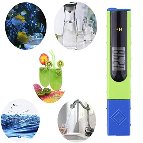 Best Design Precision Portable Digital Ph Meter Pen Water Monitor Tester Acidometer Acidity, Portable Humidity Monitor - Digital Vu Meter, Ph Pen Type, Portable Oil Tester, Handheld Ph Meter by GoodKitchent