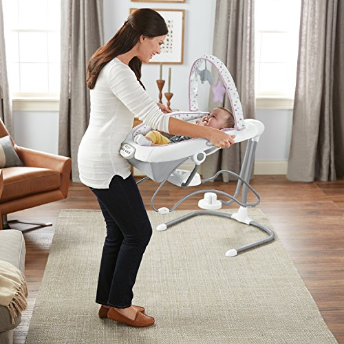 Image of the Graco Duet Sway LX Swing with Portable Bouncer, Camila