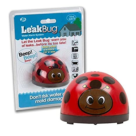 Detects as little as 1//32 of Water Leak Detector Beeps When Battery is Low Leak Puppy SCS Direct Leak Puppy Electronic Water Alarm