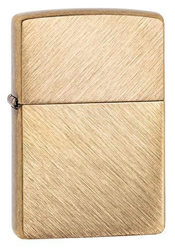Custom Personalized Herringbone Sweep Gold Brass Zippo Windproof Lighter Free Engraving #29830