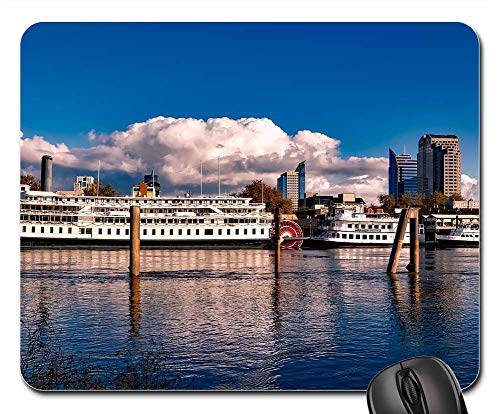 Mouse Pad - Sacramento California City Steamboat Riverboat for sale  Delivered anywhere in USA