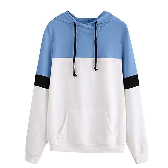 Damen Hoodie Sweatshirt Sonnena Mode Langarm Schulterfrei Party Pullover  Kapuzenpullover Tops Bluse Frauen Lose Fit Elegante f16e686791