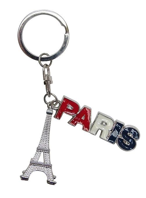 Bijoux bolsa, llavero Torre Eiffel inscripción París France ...