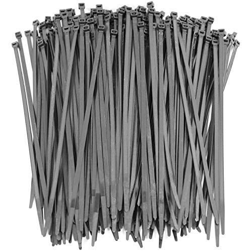 250 Premium Heavy Duty 10 Inch Zip Ties | Black Nylon Cable Ties | XGS Wire Ties by APTronix (10 Inch, Black) by APTronix (Image #7)