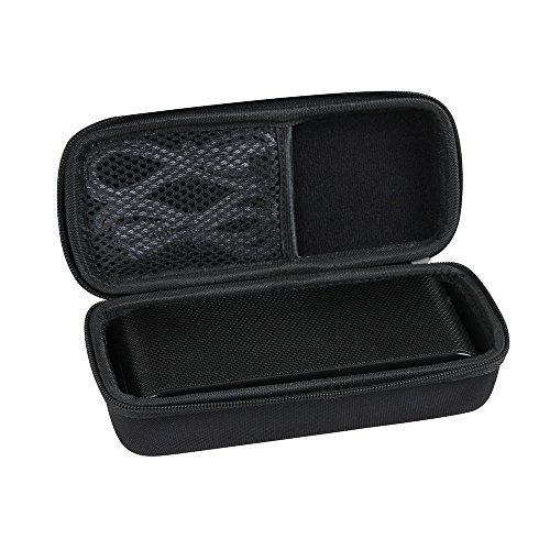Hard EVA Travel Black Case for Evetebol Bluetooth Speakers 6W Touch Speakers Bluetooth V4.2 Wireless Speaker by Hermitshell