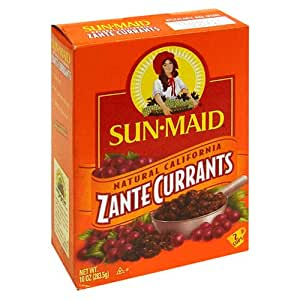Sun Maid Bag in Box Zante Currants, 10-Ounce Box: Amazon ...