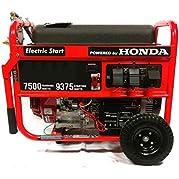 Smart Generators STF9375 9,375 Starting Watts 7,500 Running Watts Tri Fuel Generator