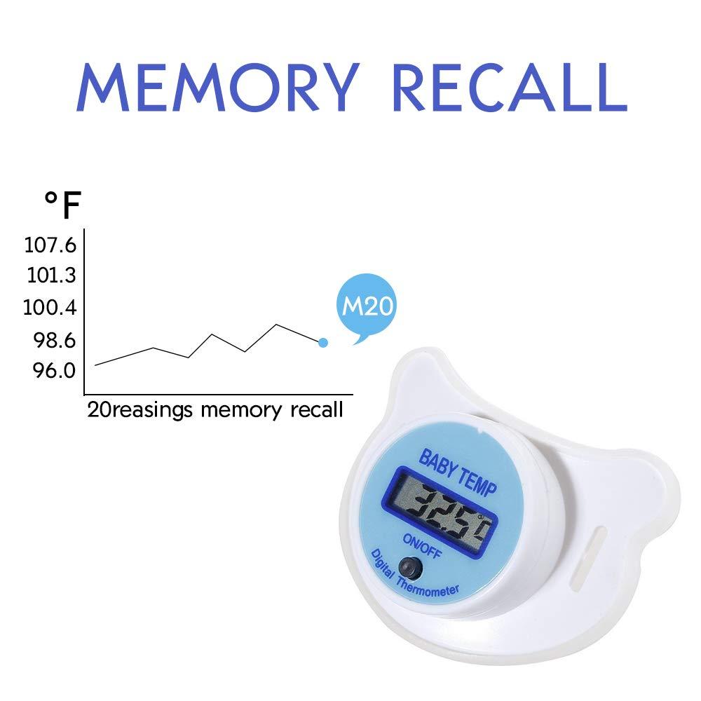 Amazon.com: Suave de Bebé infantil pezón chupete termómetro ...