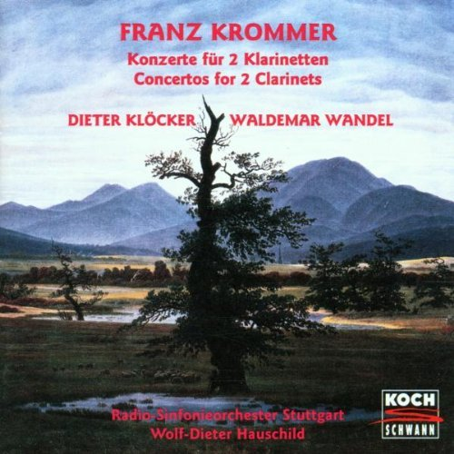 Krommer: Concertos for 2 Clarinets by Dieter Kloecker