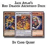 Yu-Gi-Oh! Jack Atlas Complete Red Dragon Archfiend Resonator Deck
