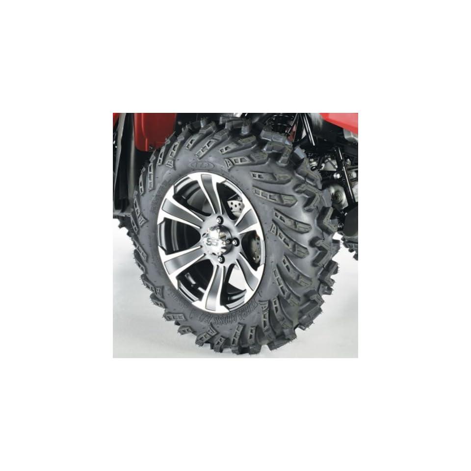 ITP Terracross R/T XD Alloy Tire/Wheel Kit Matte Black/Machined SS312 44298