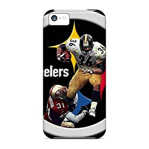 High Grade Luoxunmobile333 Flexible Tpu Cases For Iphone 5c - Pittsburgh Steelers