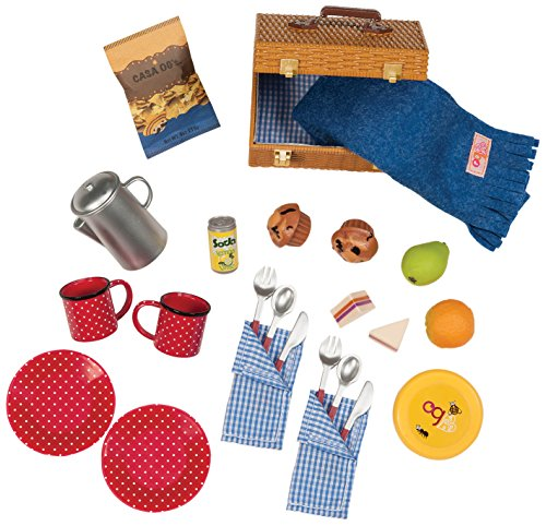 Our Generation Dolls Packed for A Picnic Set for Dolls, 18