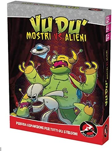 Amazon.com: Red Glove Monsters vs Aliens, Expansion for Vudu ...