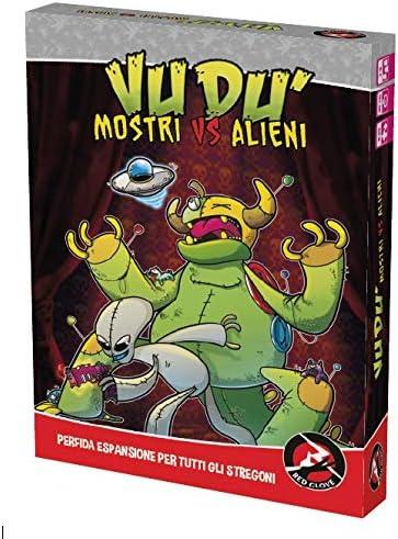 Red Glove Monstruos VS Alieni, expansión para vudù, Color, 20324: Amazon.es: Juguetes y juegos