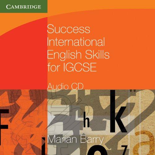 Success International English Skills for IGCSE Audio CD (Cambridge International IGCSE) by Cambridge University Press