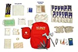 Emergency Survival Kit 2-Person, 3-Day Backpack (With Multi-Tool) - by GoSafe