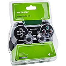 Joystick Dual Shock Para Pc Multilaser - JS030