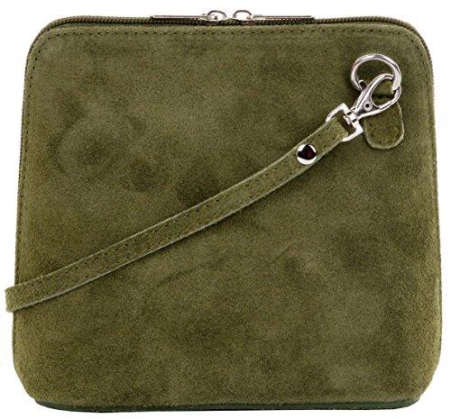 cuir de sac Sacchi ou carrosserie petit micro Suede italien sac Primo 4R75wq7