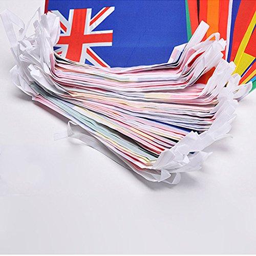 Amazon.com : 164 Feet International String Flags, Hanging Bunting ...