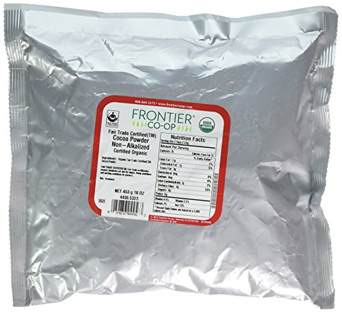 Frontier Co-op Organic Cocoa Powder, 1 Pound ()