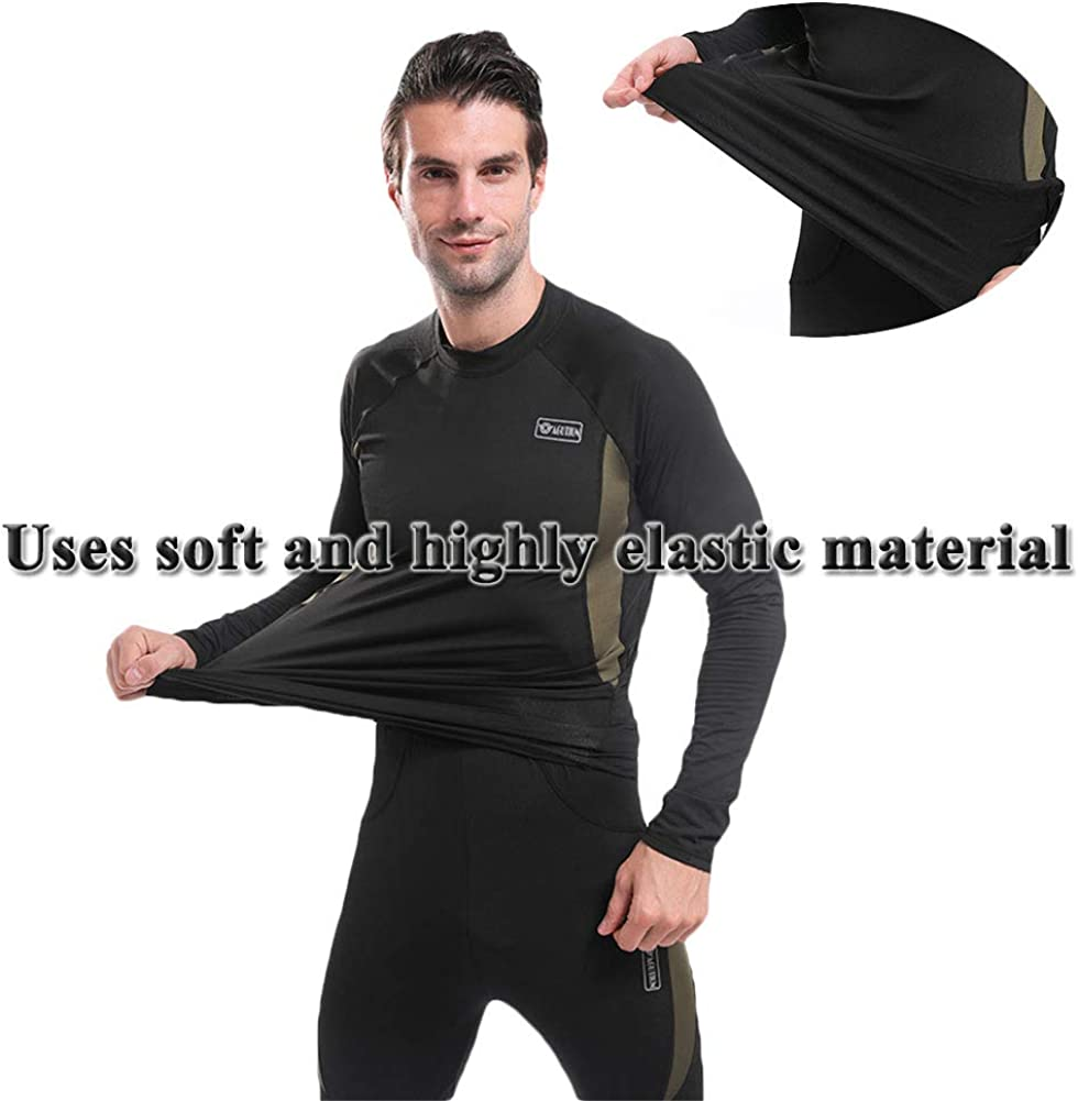 Homme Face Shield Fleece Lined Thermal Doublure polaire thermique