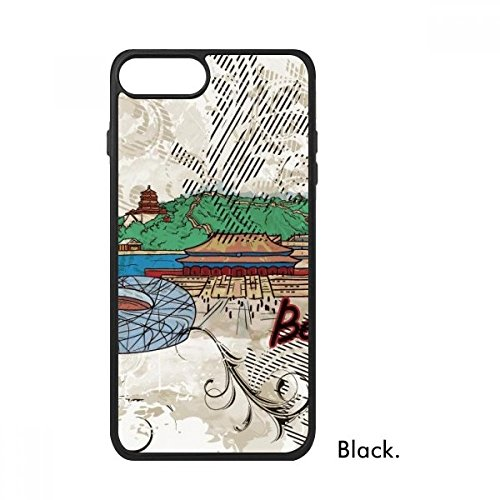 Hand-painted Tian An Men Bird Nest Beijing Cultural Elements For iPhone 7 Cases Phonecase Apple Cover Case Gift (Nest Beijing Bird)