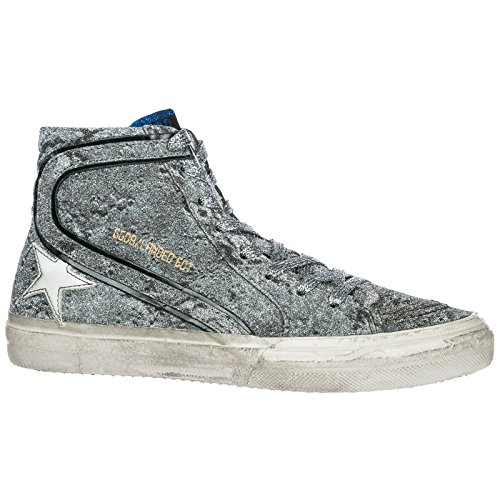 Slide Argent Baskets Golden Sneakers Goose Hautes Chaussures Femme 6ngPqA
