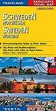 Carte de voyage Suède 1 : 800 000