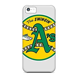 New Arrival Premium 5c Cases Covers For Iphone (oakland Athletics) by icecream design