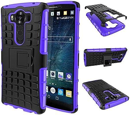 pinlu® Funda para LG V10 Smartphone Doble Capa Híbrida Armadura ...