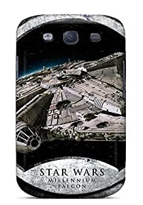 New Starting Case Cover Protector Specially Made For Galaxy S3 Star Wars Millenium Falcon