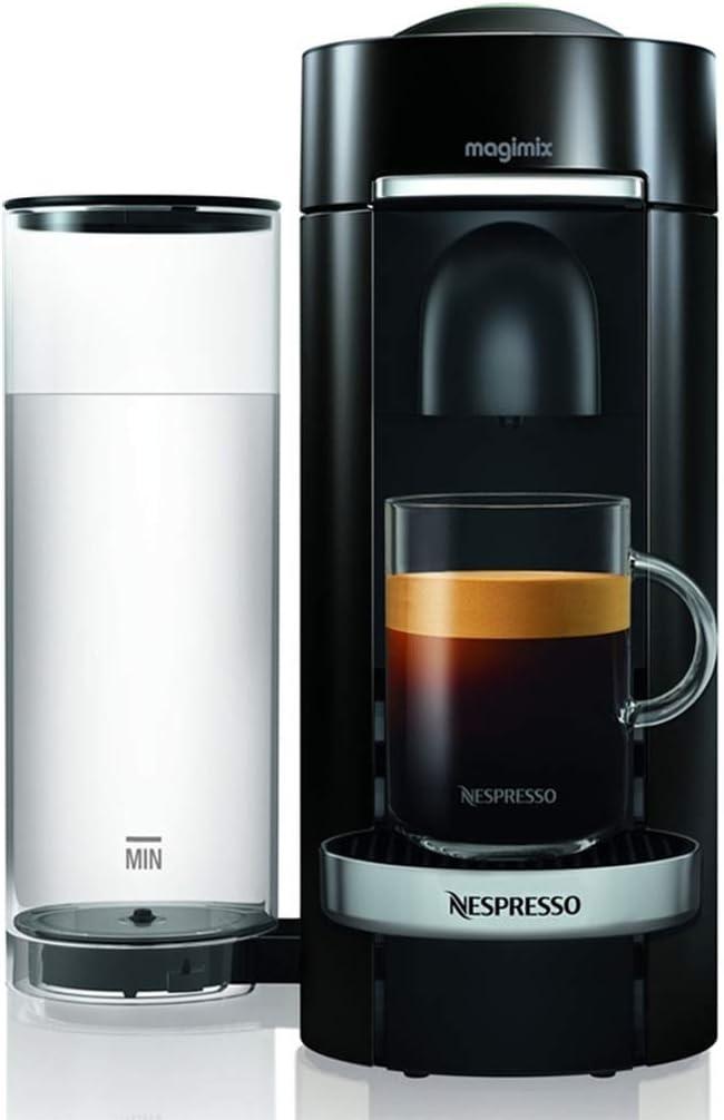Magimix Nespresso Vertuo Independiente Máquina espresso 1,8 L - Cafetera (Independiente, Máquina espresso, 1,8 L, Cápsula de café, 1260 W, Negro): Amazon.es: Hogar